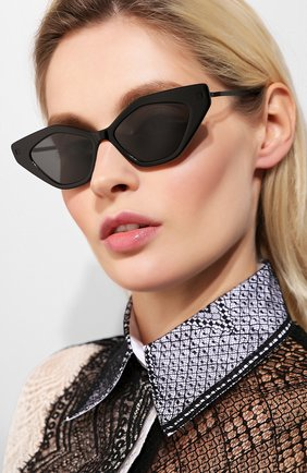 Мужские солнцезащитные очки MYKITA черного цвета, арт. GAPI/915 | Фото 2