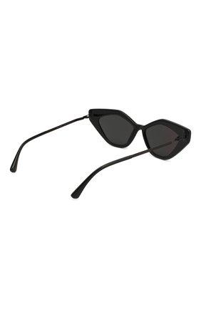 Женские солнцезащитные очки MYKITA черного цвета, арт. GAPI/915 | Фото 4