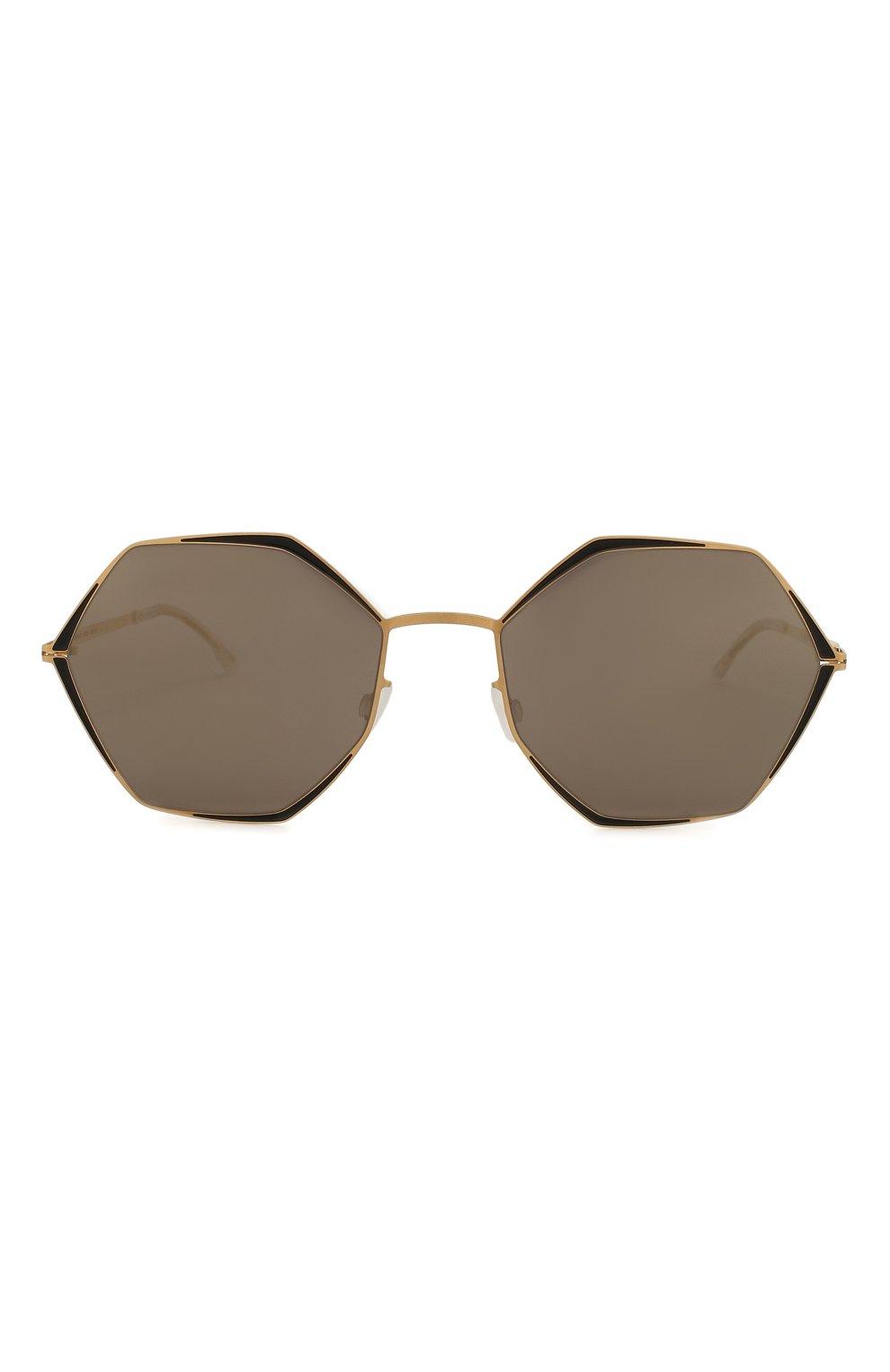 Женские солнцезащитные очки MYKITA коричневого цвета, арт. ALESSIA/167 | Фото 3