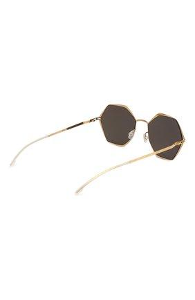 Женские солнцезащитные очки MYKITA коричневого цвета, арт. ALESSIA/167 | Фото 4