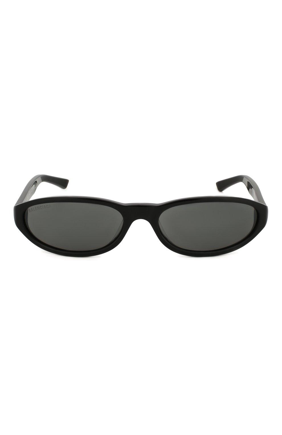 Женские солнцезащитные очки BALENCIAGA черного цвета, арт. BB0007 001 | Фото 3