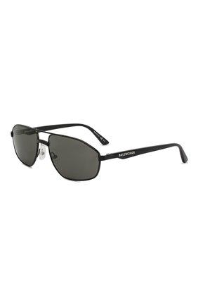 Солнцезащитные очки Balenciaga черные | Фото №1