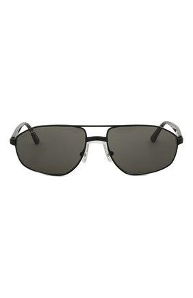 Солнцезащитные очки Balenciaga черные | Фото №3
