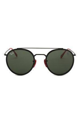 Мужские солнцезащитные очки RAY-BAN черного цвета, арт. 3647M-F02831 | Фото 2