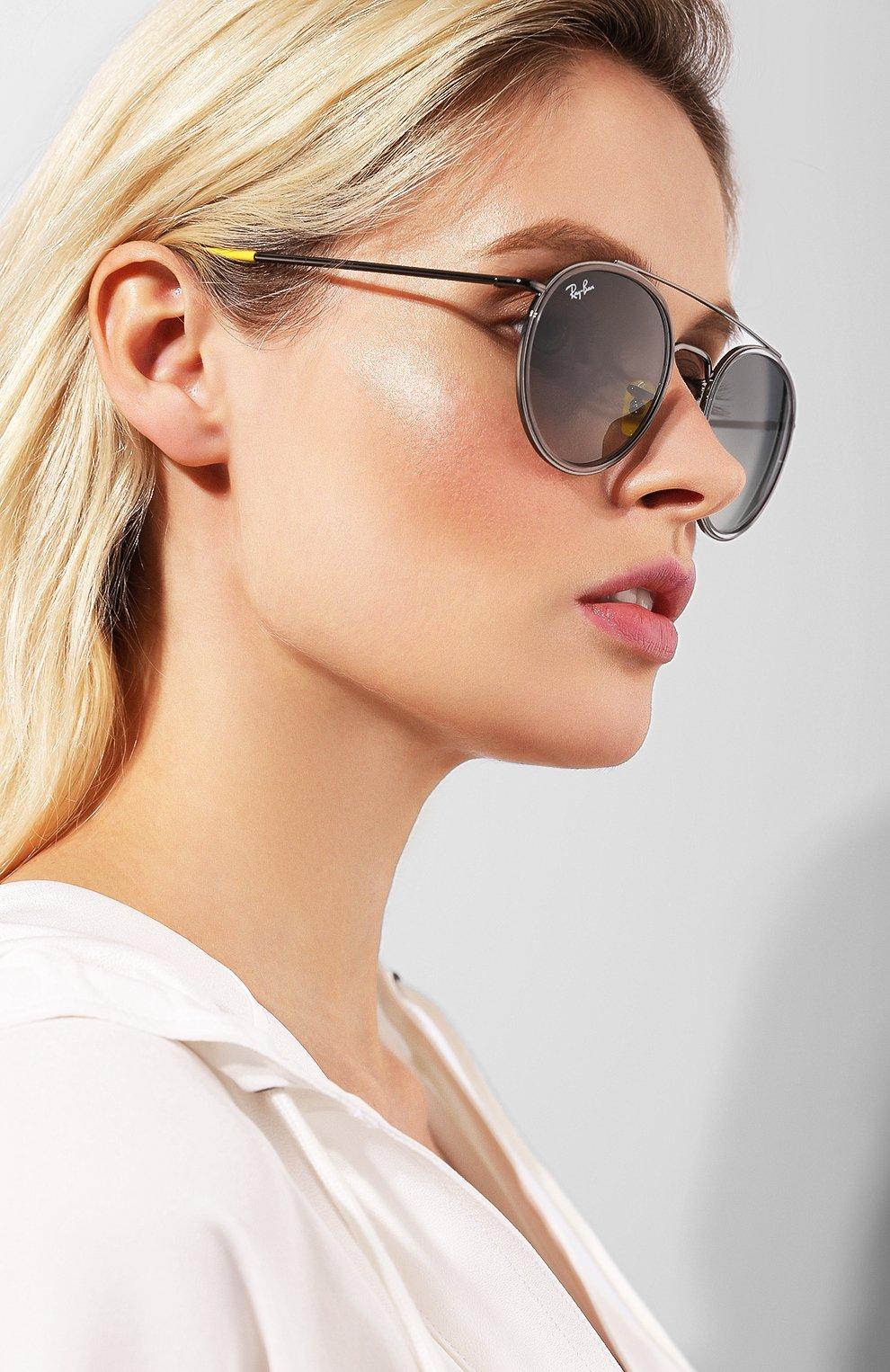 Солнцезащитные очки Ray-Ban серые   Фото №2
