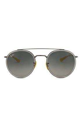 Солнцезащитные очки Ray-Ban серые   Фото №3