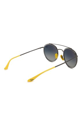 Солнцезащитные очки Ray-Ban серые   Фото №4