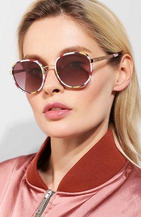 Мужские солнцезащитные очки DOLCE & GABBANA разноцветного цвета, арт. 2227J-12984Q | Фото 2