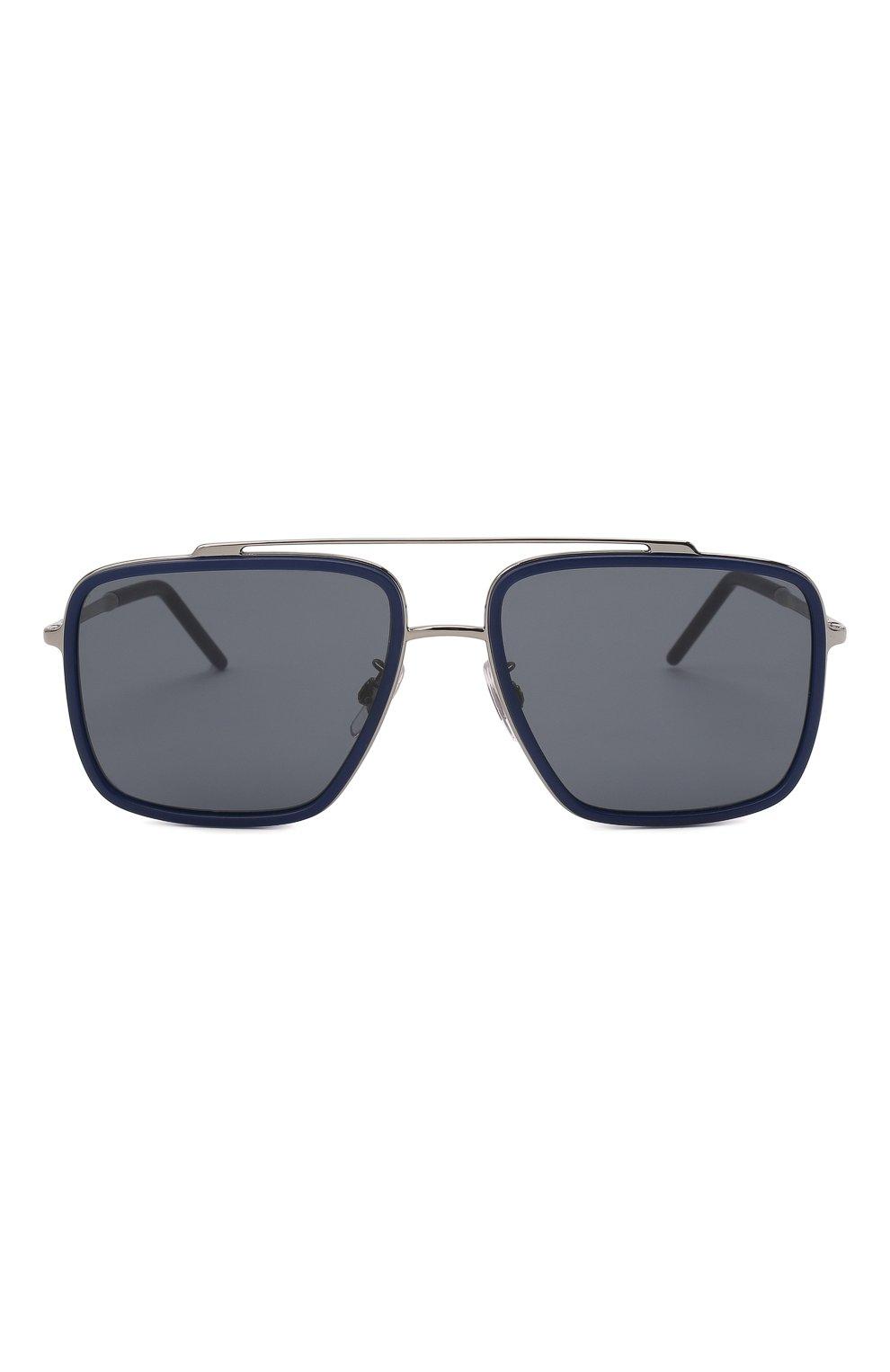 Мужские солнцезащитные очки DOLCE & GABBANA темно-синего цвета, арт. 2220-04/80 | Фото 3