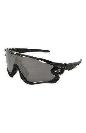 Мужские солнцезащитные очки OAKLEY черного цвета, арт. 9290-929028 | Фото 1