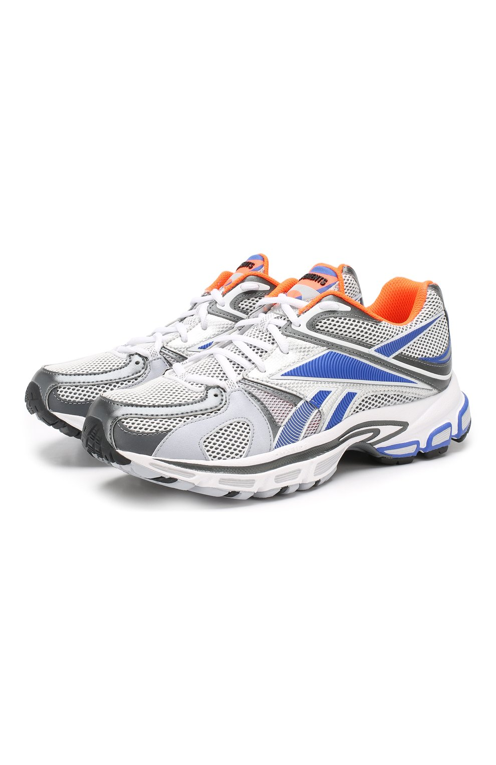 Текстильные кроссовки Vetements x Reebok Spike Runner 200 | Фото №1