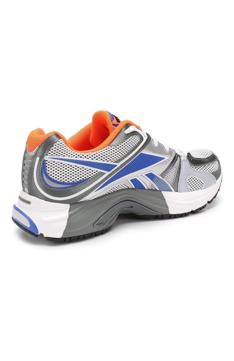 Текстильные кроссовки Vetements x Reebok Spike Runner 200 | Фото №4