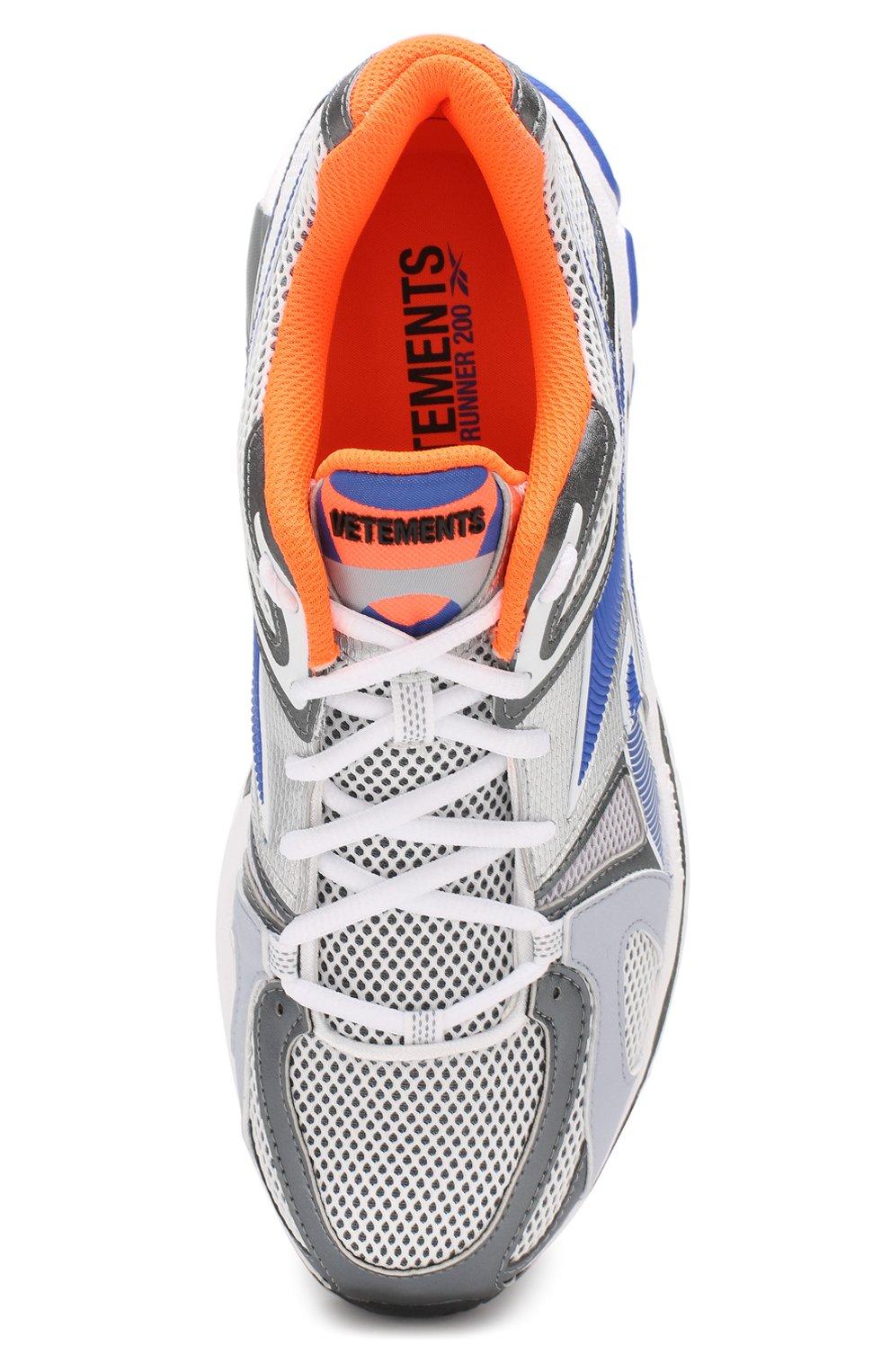 Текстильные кроссовки Vetements x Reebok Spike Runner 200 | Фото №5