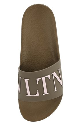 Резиновые шлепанцы Valentino Garavani VLTN | Фото №5