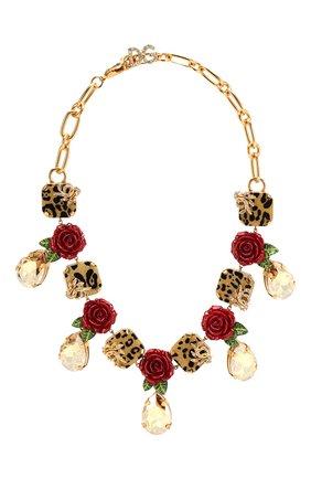 Колье Dolce & Gabbana разноцветное | Фото №1