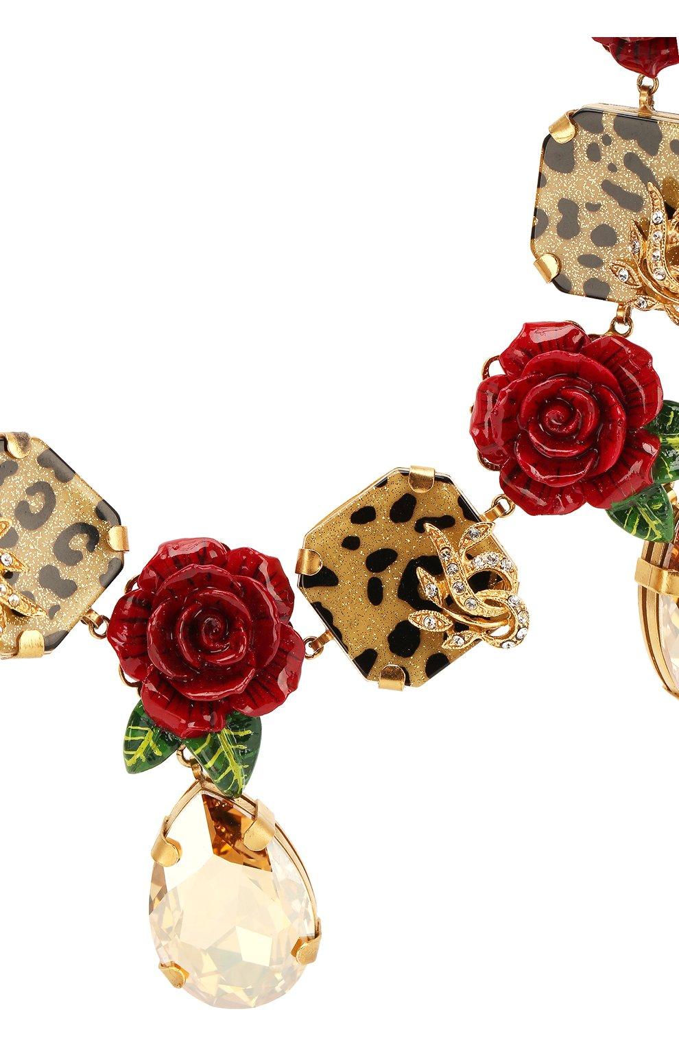 Колье Dolce & Gabbana разноцветное | Фото №2