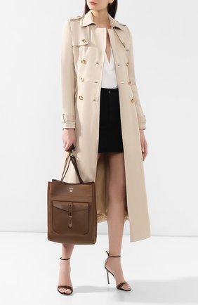 Женская сумка t twist  TOM FORD коричневого цвета, арт. L1182T-CT3   Фото 2