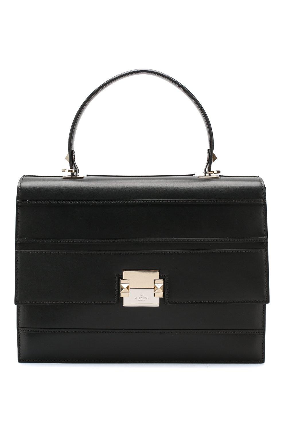 Женская сумка valentino garavani vcase medium VALENTINO черного цвета, арт. RW0B0D98/KKZ | Фото 1