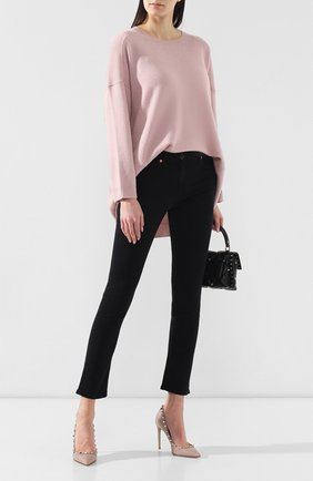 Женская кожаные туфли valentino garavani rockstud VALENTINO бежевого цвета, арт. SW2S0057/V0D | Фото 2