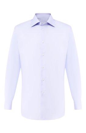 Мужская хлопковая сорочка BRIONI сиреневого цвета, арт. RCLU2U/PZ033 | Фото 1