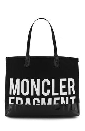 Текстильная сумка-шоппер Moncler Fragment Hiroshi Fujiwara | Фото №1