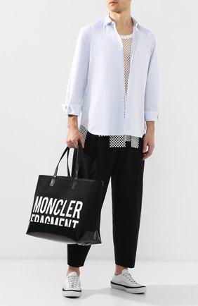 Текстильная сумка-шоппер 7 Moncler Fragment Hiroshi Fujiwara | Фото №2