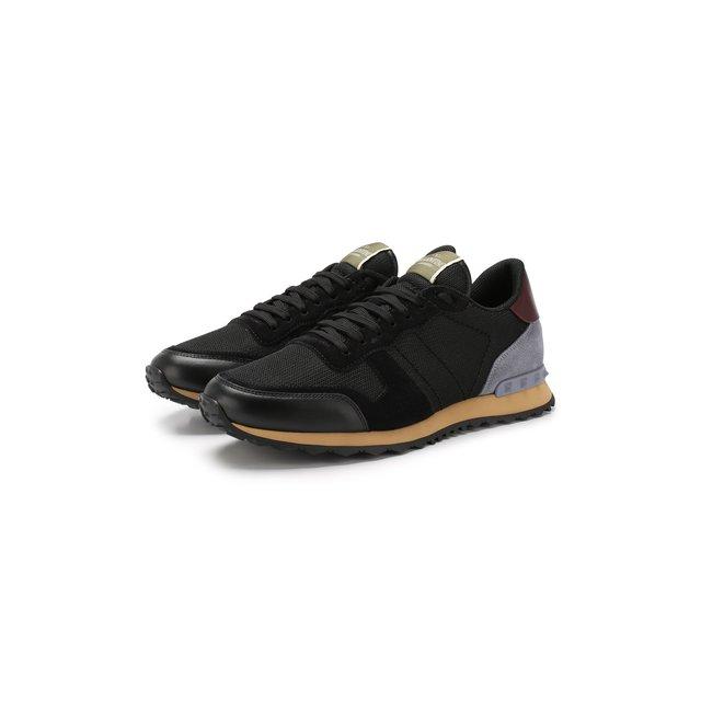 Текстильные кроссовки Valentino Garavani Rockrunner Valentino — Текстильные кроссовки Valentino Garavani Rockrunner