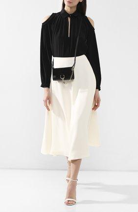 Женская сумка faye CHLOÉ черного цвета, арт. 3P0796/H20   Фото 2
