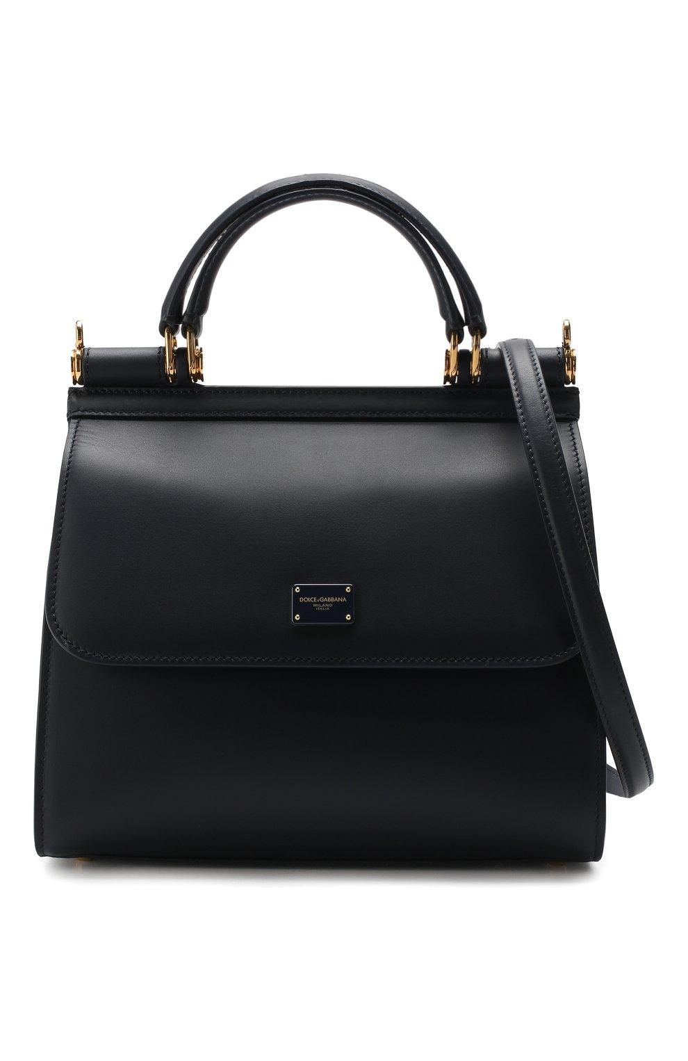 44a540e93039 Женская сумка sicily 58 small DOLCE & GABBANA темно-синяя цвета ...