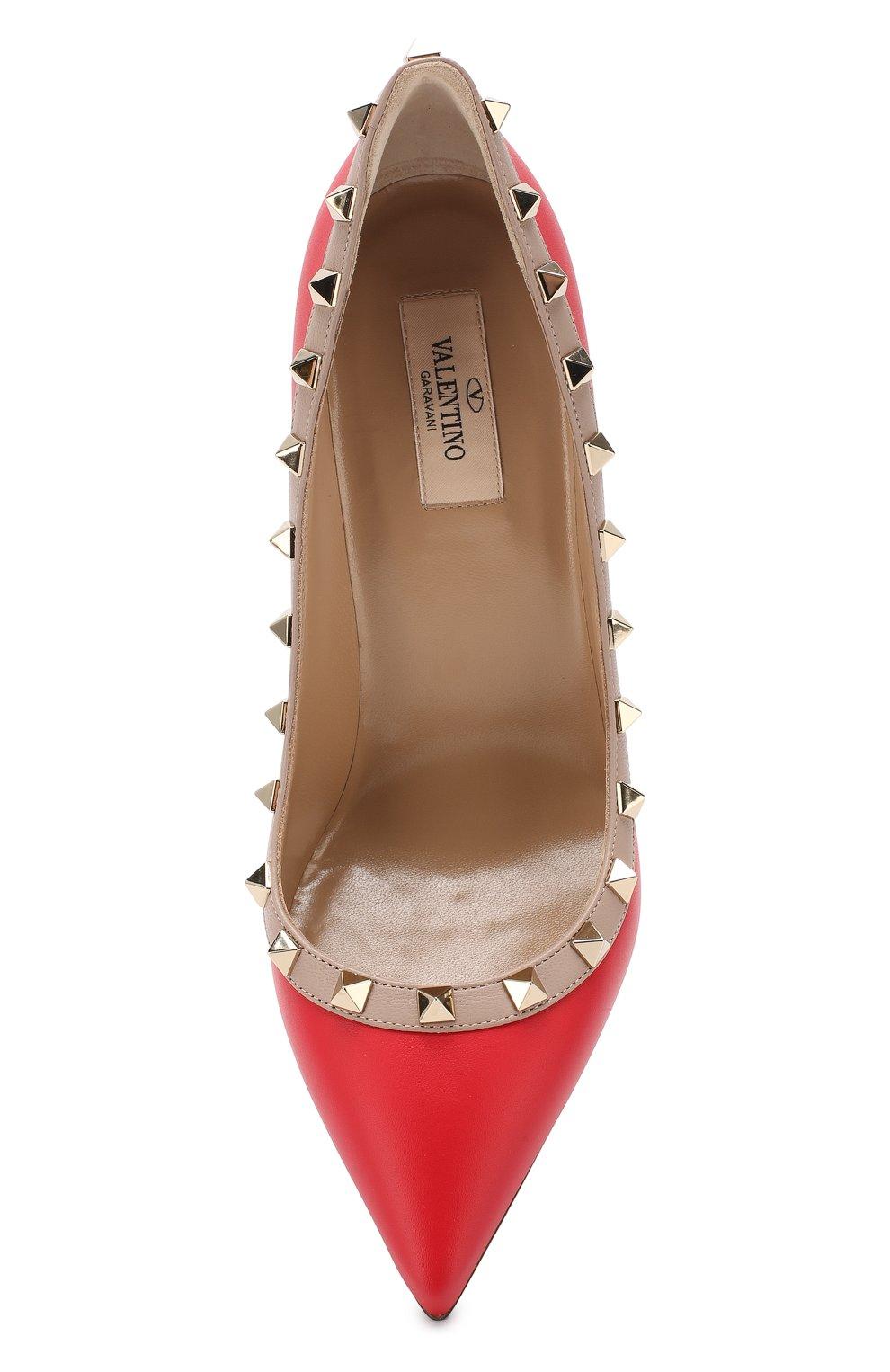 Кожаные туфли Valentino Garavani Rockstud | Фото №5