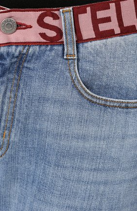 Джинсы Stella McCartney синие | Фото №5