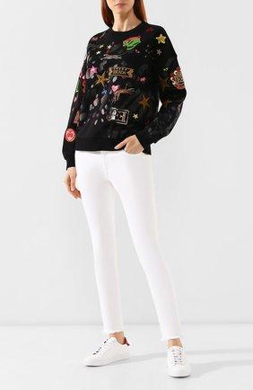 Женские джинсы ESCADA SPORT белого цвета, арт. 5029807 | Фото 2