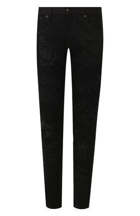 Мужские джинсы RALPH LAUREN черного цвета, арт. 790738328 | Фото 1
