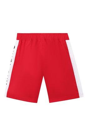 Детские плавки-шорты GIVENCHY красного цвета, арт. H24045/6A-12A | Фото 2