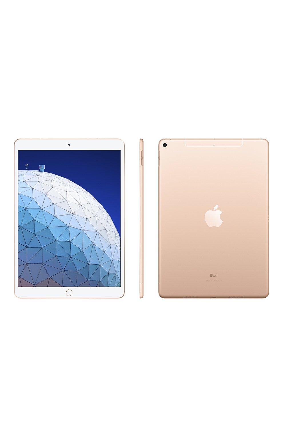 "iPadAir 10.5""Air Wi-Fi + Cellular 256GB Gold   Фото №2"