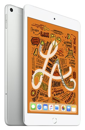 Мужской ipad mini wi-fi + cellular 256gb silver APPLE  silver цвета, арт. MUXD2RU/A | Фото 1