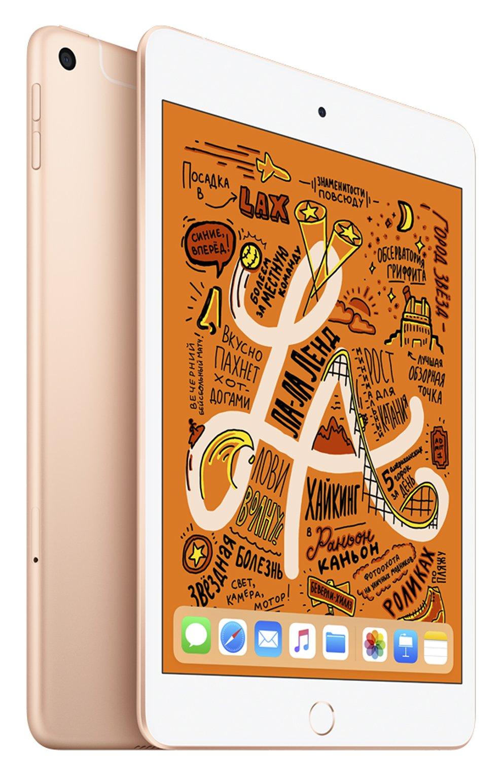 Ipad mini wi-fi + cellular 256gb gold APPLE  gold цвета, арт. MUXE2RU/A | Фото 1