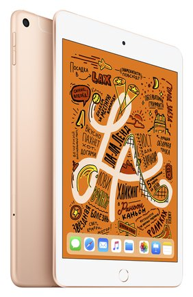 Ipad mini wi-fi + cellular 256gb gold APPLE  gold цвета, арт. MUXE2RU/A | Фото 1