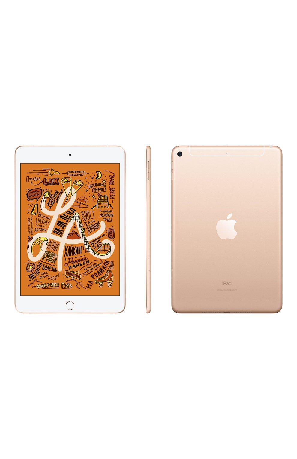 Ipad mini wi-fi + cellular 256gb gold APPLE  gold цвета, арт. MUXE2RU/A | Фото 2