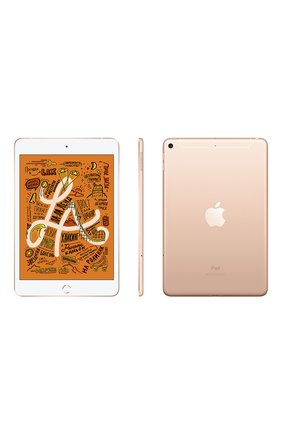 Ipad mini wi-fi + cellular 256gb gold APPLE  gold цвета, арт. MUXE2RU/A | Фото 2