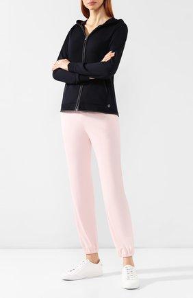 Женские шерстяные брюки LORO PIANA розового цвета, арт. FAG2441   Фото 2