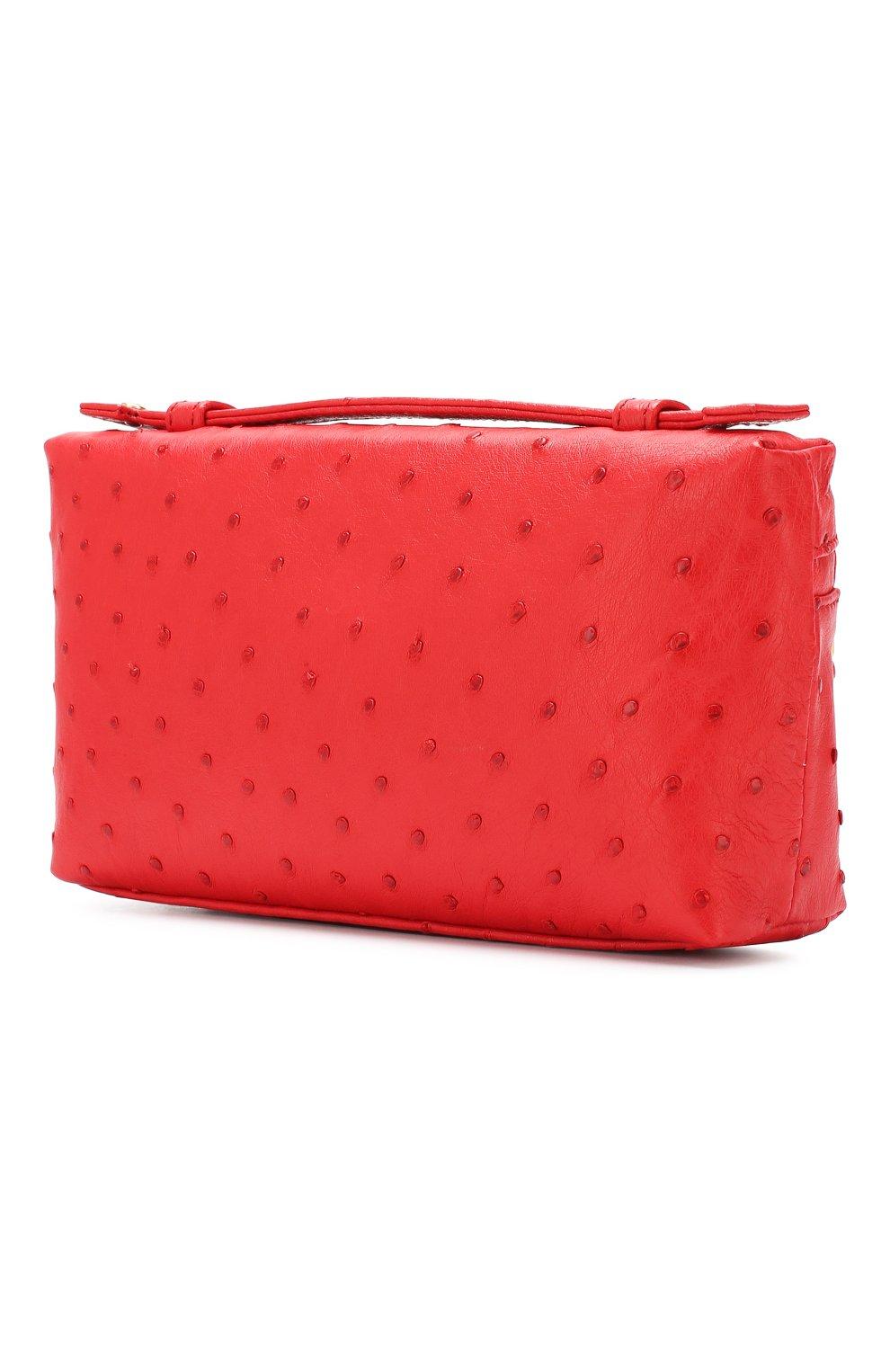 Клатч L19 Loro Piana красного цвета | Фото №3