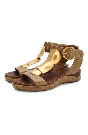 Кожаные сандалии Wanda  | Фото №1