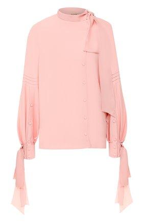 Блузка No. 21 розовая | Фото №1