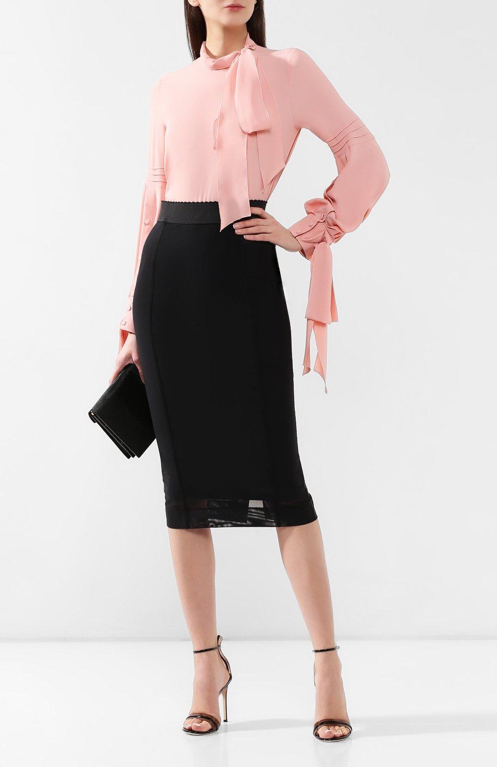Блузка No. 21 розовая | Фото №2
