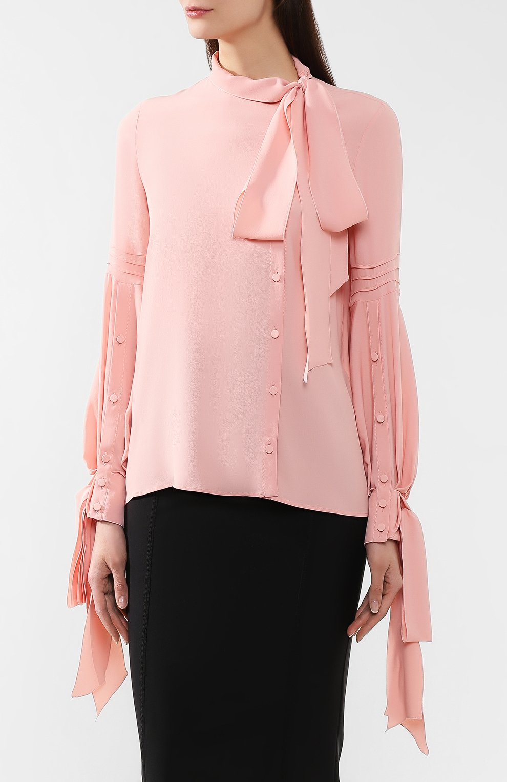 Блузка No. 21 розовая | Фото №3