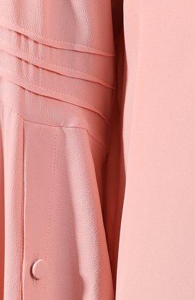 Блузка No. 21 розовая | Фото №5