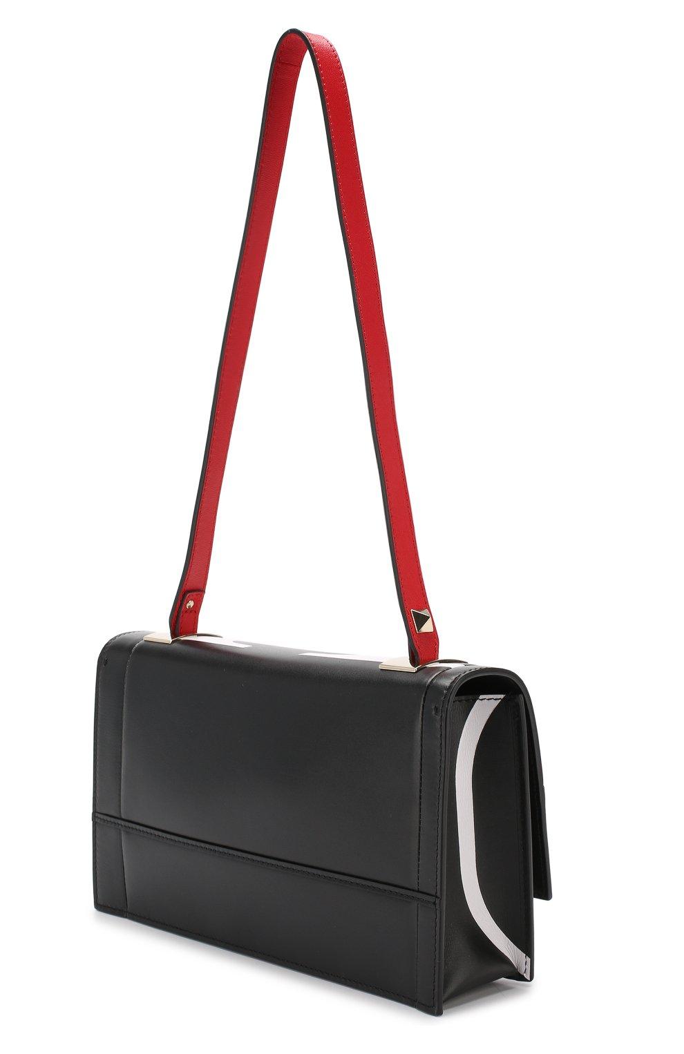 Сумка Valentino Garavani The Case Valentino черная цвета   Фото №3