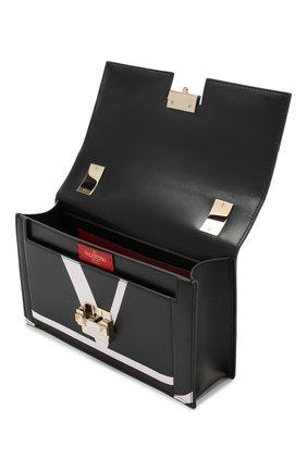 Сумка Valentino Garavani The Case Valentino черная цвета   Фото №4