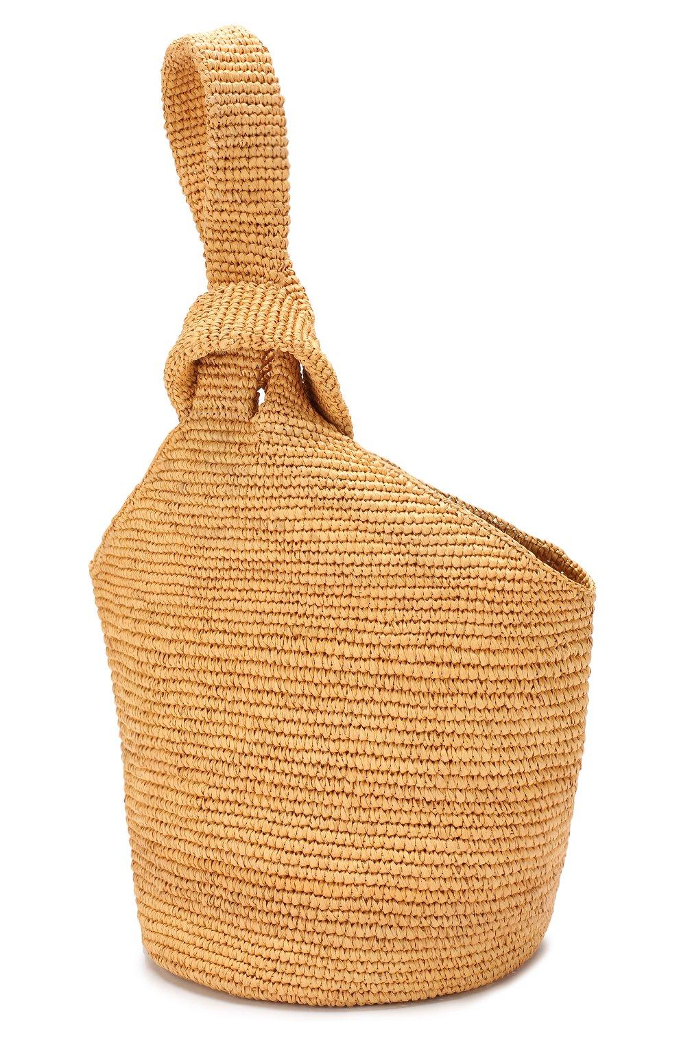 930a4dd9d50a6 Пляжная сумка SENSI STUDIO бежевого цвета — купить за 19950 руб. в ...